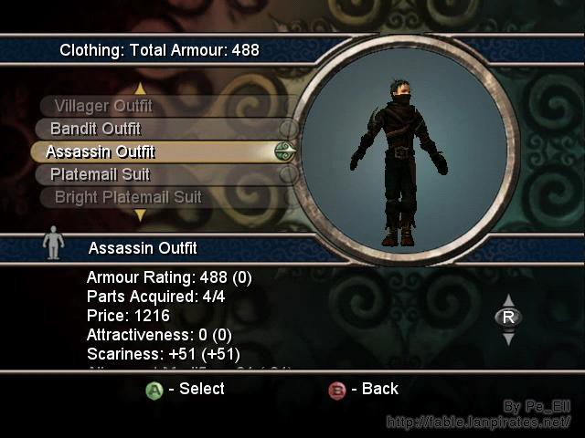 Assassin Outfit Front